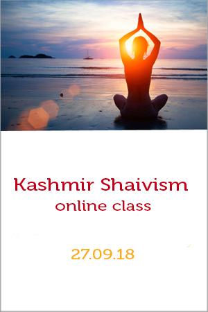 Kashmir Shaivism online class